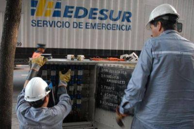 Prestatarias en la mira: el ENRE intim� a Edesur por falta de obras en Lan�s