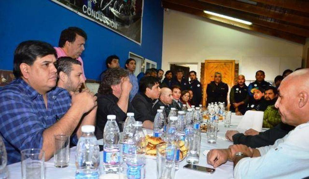 """Gremios provinciales se reunieron por """"una CGT fuerte, unida y que represente a todos los trabajadores"""""""