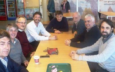 Ingenieros se reunieron con el intendente de Pinamar Martín Yeza