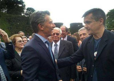Altolaguirre estuvo en el homenaje a Yrigoyen con Macri y gestion� fondos