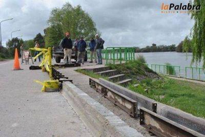 Comenzó la obra de reconversión de la avenida costanera Emma Nozzi