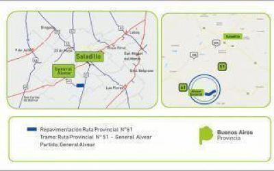 Provincia licit� repavimentaci�n de tramos en rutas 11; 61; 65 y 70
