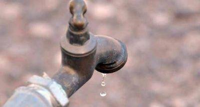 Se registrará baja presión de agua en toda la ciudad