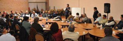 El Gabinete de Agroindustria de la Provincia de Buenos Aires visit� Saladillo