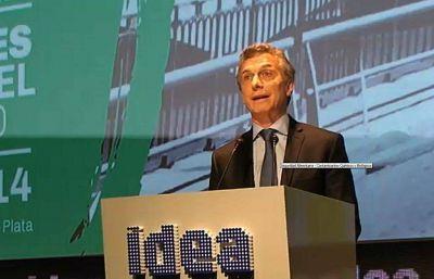 """Macri: """"los empresarios apostaron por esta nueva etapa"""""""