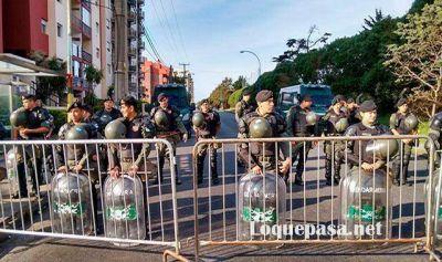 Impresionante despliegue para cuidar a Macri