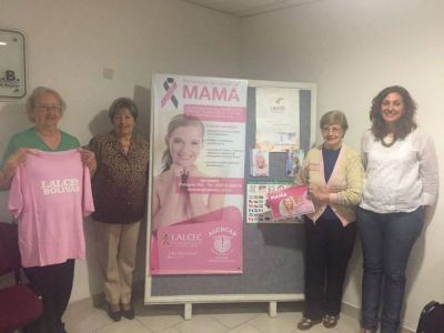 El municipio y LALCEC presentaron una campaña de prevención de cáncer de mama