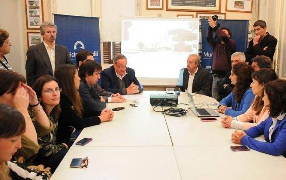 Tandil: presentaron millonario proyecto de urbanización integral en los barrios La Movediza y El Tropezón
