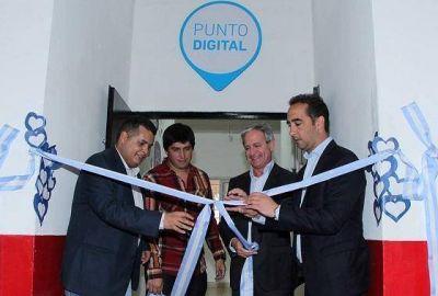 Tagliaferro e Ibarra inauguraron un nuevo