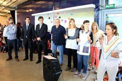 Galmarini estuvo en el cierre de las actividades por el Día de la Paz