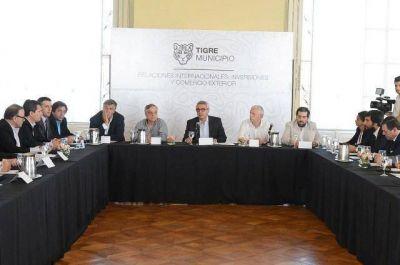 """Julio Zamora: """"Esperamos la llegada de inversiones a Tigre para generar empleo"""""""