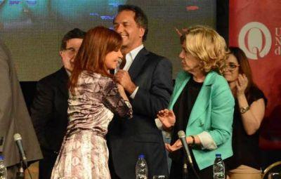 Cristina en un acto con Scioli y con pedido a la Justicia