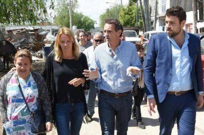 Katopodis se mostró con Delfino, el funcionario que criticó a Magario por la elección de la FAM