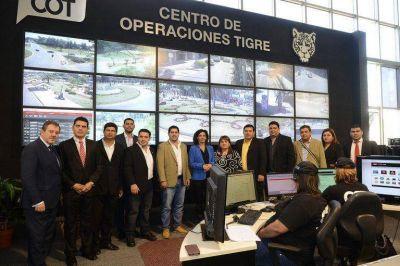 Más países latinoamericanos se interesan por el sistema de seguridad de Tigre