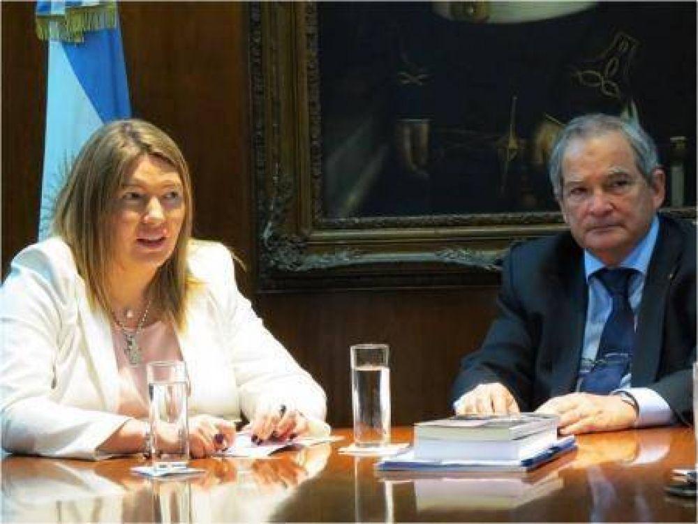 La Gobernadora se reunió con el Ministro de Salud de la Nación