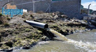 El vertido de líquidos crudos no es una cuestión que se pueda considerar aceptable
