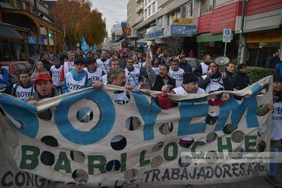 El Soyem marcha en contra del gobierno municipal