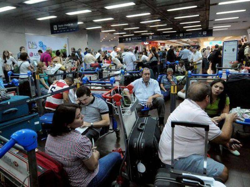 Por el fracaso de la paritaria con Aerolíneas, podría haber grandes demoras en los aeropuertos