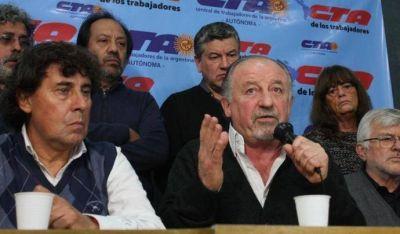 Yasky y Micheli, a un paso del paro nacional