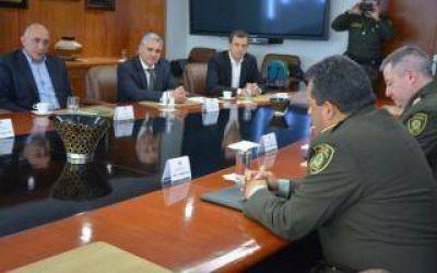 El Intendente de Bolívar comenzó las actividades de su viaje a Colombia