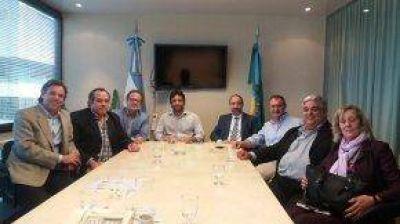 Concejales y referentes locales se reunieron con funcionarios provinciales