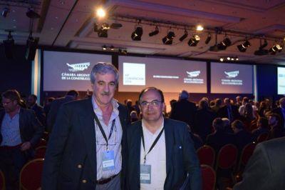 Salom�n particip� de la 64� Convenci�n de la C�mara Argentina de la Construcci�n