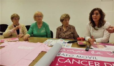 LALCEC realizará una campaña para prevenir el cáncer de mama