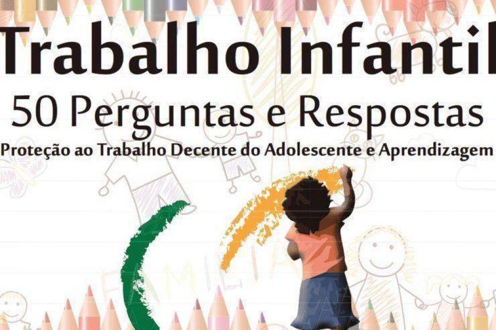 Francisco apoya una iniciativa de erradicación del trabajo infantil en Brasil
