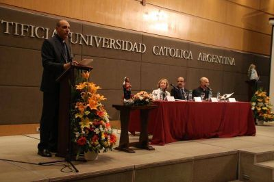 El rector de la UCA asegur� que �no es imposible� unir a los argentinos