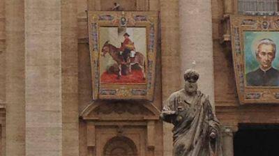 El cura Brochero ya está en el Vaticano, cuatro días antes de la canonización
