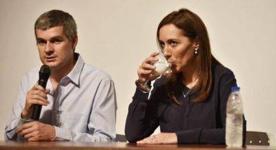 Malestar en el entorno de Vidal por las presiones de Marcos Peña para tumbar el acuerdo con Massa