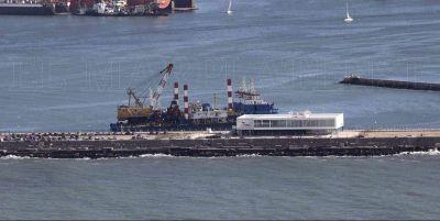 El dragado finalizará en diciembre y buscarán la llegada de cruceros