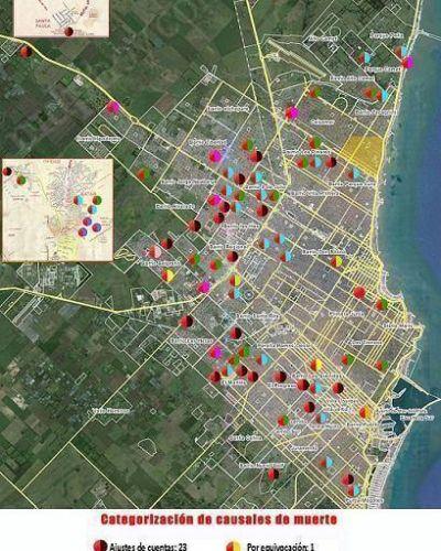 Inseguridad: Mar del Plata la ciudad bonaerense con mayor tasa de homicidios