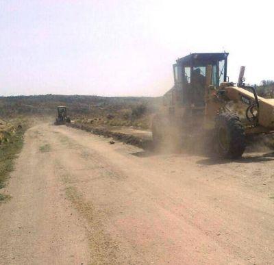 Obras para los habitantes del paraje El Paraguay