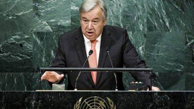 Al frente de la ONU, Antonio Guterres combatirá a