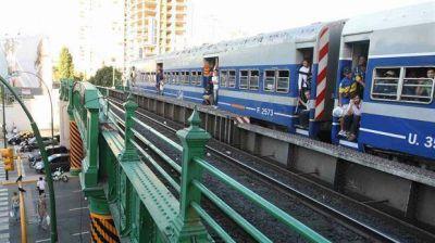 Construirán el viaducto del tren San Martín: eliminarán once pasos a nivel