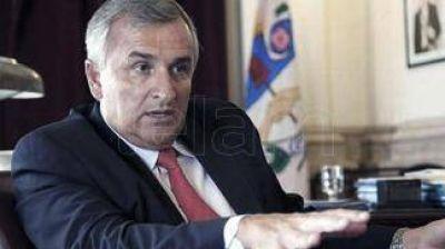 Aparecieron amenazas de muerte a Gerardo Morales en la casa de gobierno provincial