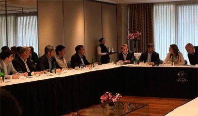 La gobernadora Vidal encabez� reuni�n de la Mesa de Cambiemos en Mar del Plata