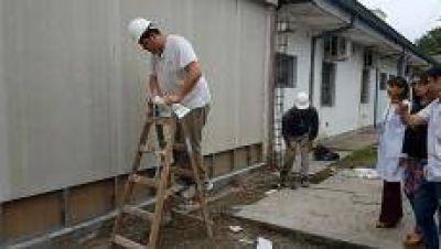 Niegan que se haya ca�do una pared en el Hospital de Concepci�n