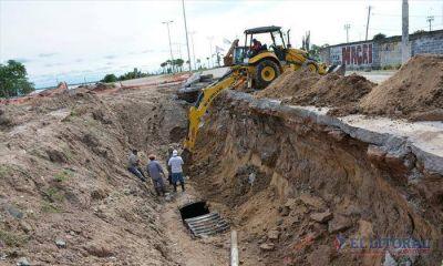 Detectan nuevas fallas en el pluvial de avenida Romero y la obra se extender� hasta diciembre