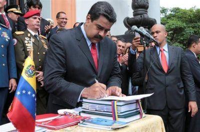 Finalmente, Maduro eludió al Congreso y aprobó el presupuesto