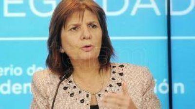 Patricia Bullrich llevará al Senado su proyecto contra la violencia en el fútbol