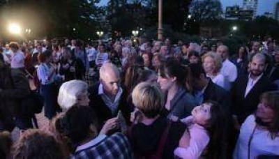 Larreta encabezó la reinauguración de Barrancas de Belgrano