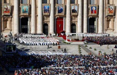 El Papa argentino proclamó santo al Cura Brochero