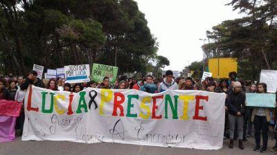 Contundente reclamo de justicia por el femicidio de Lucía