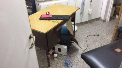 Se registr� un robo en el Centro de Salud Alto Camet