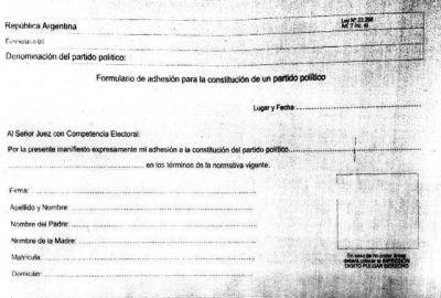 Municipales reciben fichas de afiliación a un nuevo partido y Alfaro negó que haya presiones