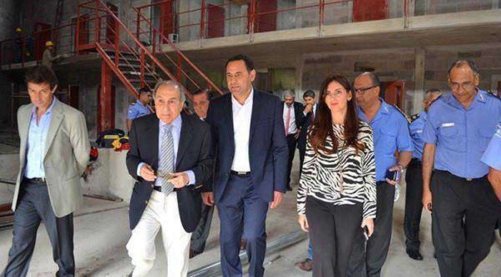 Avanzan las obras que se realizan en el Complejo Penitenciario de Villa Urquiza