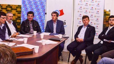 Los intendentes de Cambiemos se reunieron con el ministro Ballay