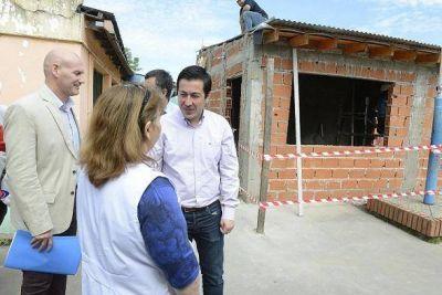 Leonardo Nardini supervis� las reformas en escuela de Tierras Altas